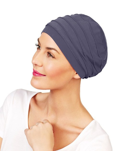 Christine Headwear - YOGA-Turban - Blaugrau (1000-0168)