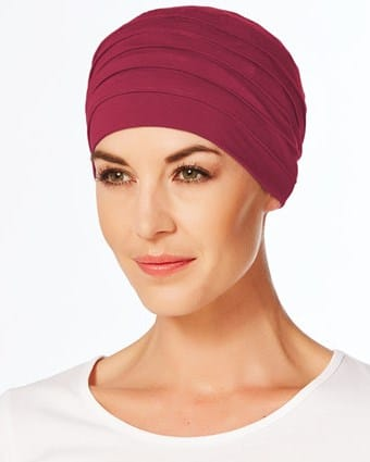 Chemoturban YOGA 1000-0384 Red-Bud Christine Headwear