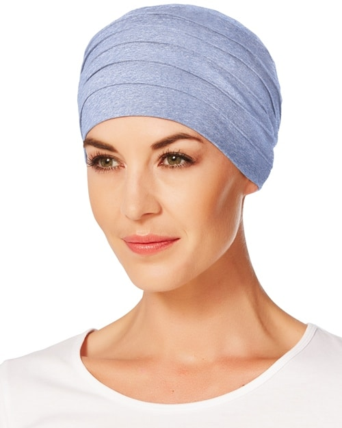 Chemoturban YOGA 1000-0469 lightblue-melange Christine Headwear