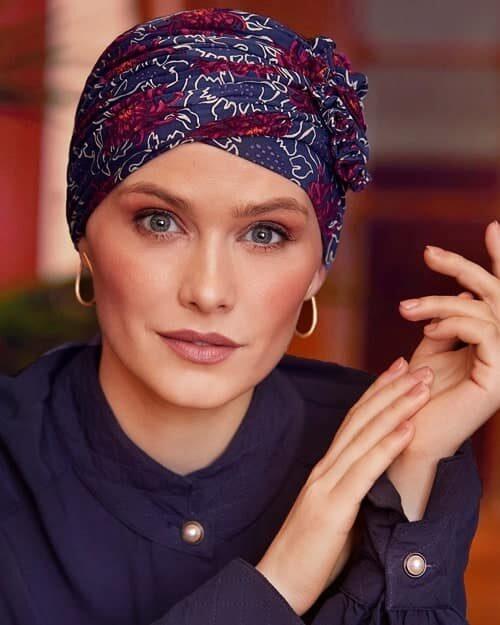 Chemoturban LOTUS Christine Headwear Artistic-Autumn 1008-0720